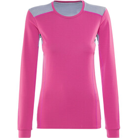 Norrøna Falketind Super Wool Shirt Damen Grafitti Pink